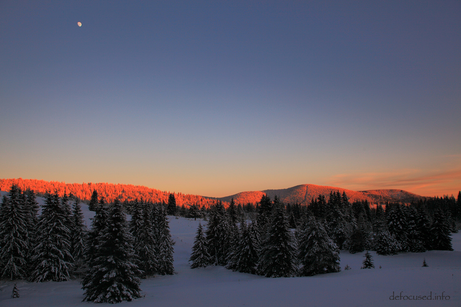 Rhodope sunset